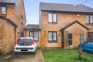 Two bedroom semi-detached property